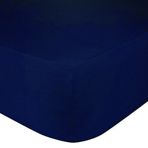 Hoeslaken donker blauw