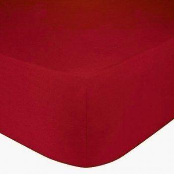 Rood hoeslaken
