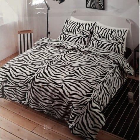 zebra print dekbedovertrek