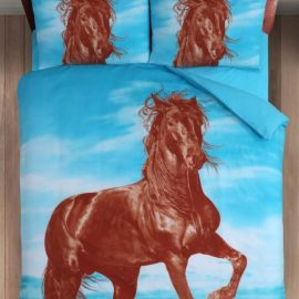 dekbedovertrek fries paard