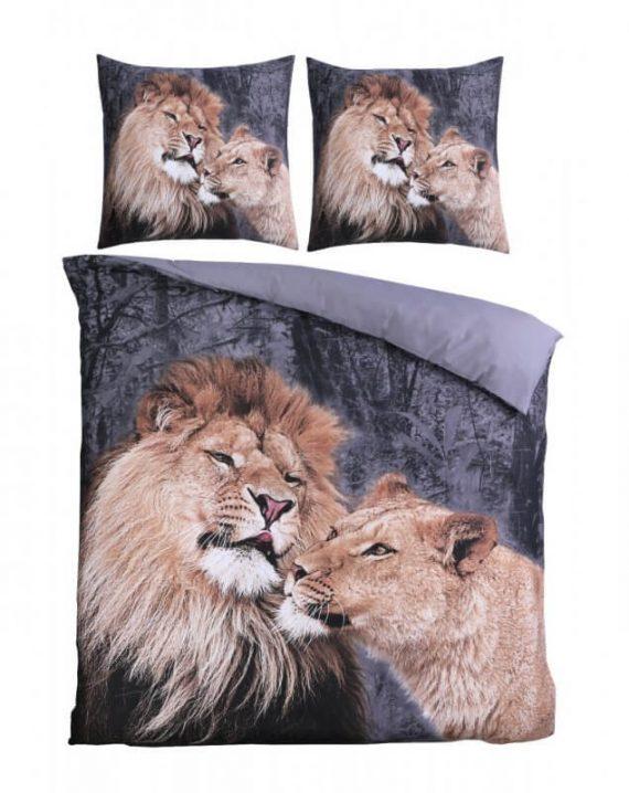 leeuw dekbedovertrek