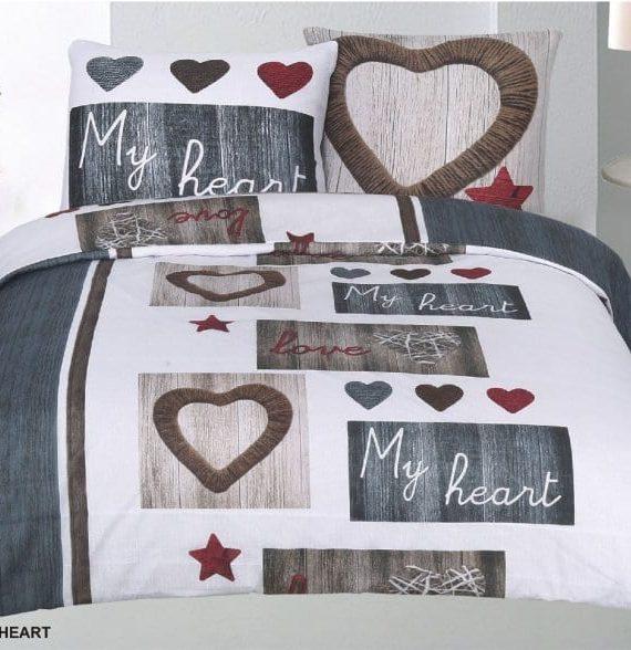 Sweet heart dekbedovertrek